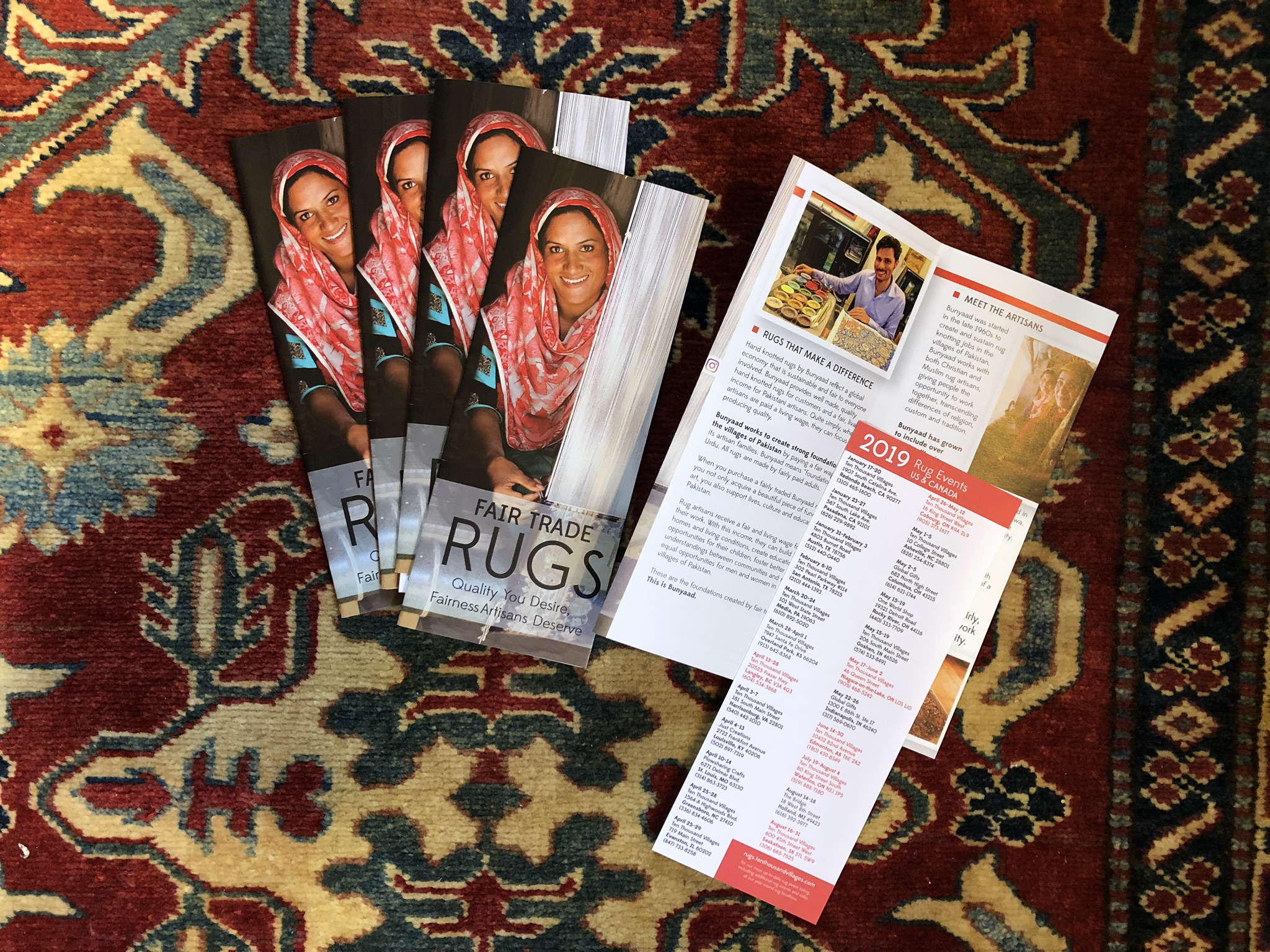 2019 rug brochures ready to order